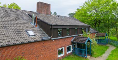 Wohnhaus im Kinderdorf Worpswede