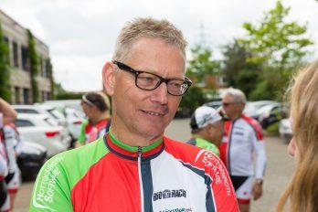 Seit zehn Jahren für krebskranke Kinder im Sattel: Uwe Picker