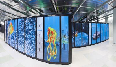 Berechnungen laufen auf Supercomputer in Stuttgart