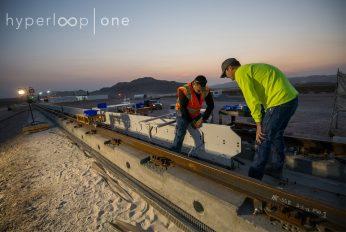 Baustelle Hyperloop