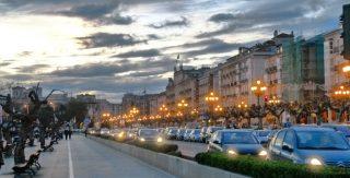 Vernetzte Parkplätze Santander