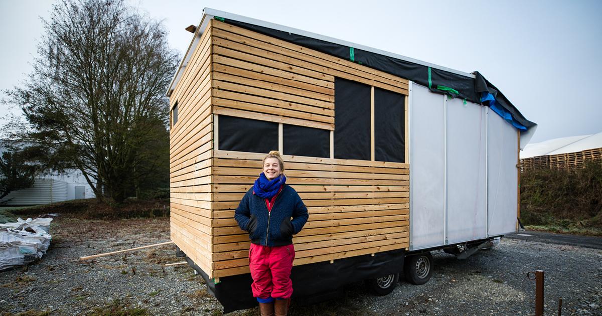die natur als wohnzimmer wohnen im minihaus 21grad. Black Bedroom Furniture Sets. Home Design Ideas