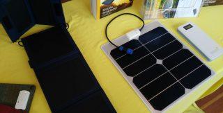 Solarladestation