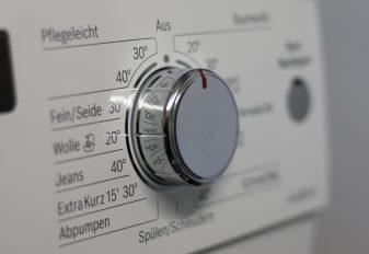 Nachhaltig leben: waschen