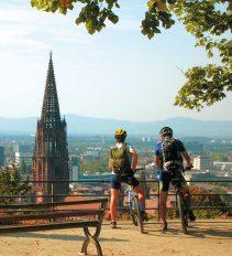 Freiburg mit dem Fahrrad