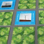 Grünes Gedächtnis Memory Spiel