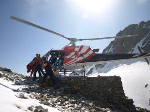 Transport per Hubschrauber