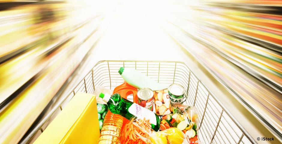 Supermarkt der Zukunft