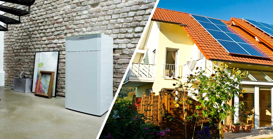 nachhaltig heizen mit w rmepumpe photovoltaik 21 grad. Black Bedroom Furniture Sets. Home Design Ideas