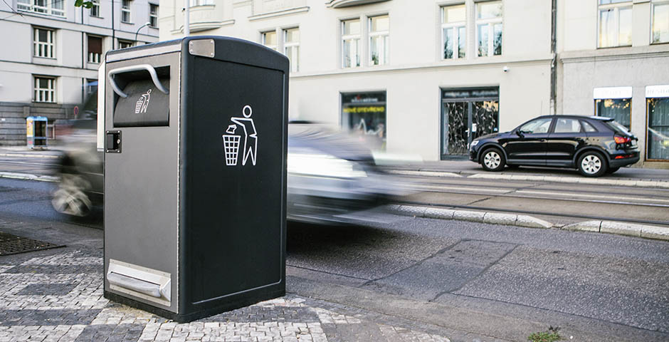 Intelligente Müllentsorgung
