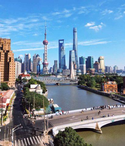 Shanghai bei Tag