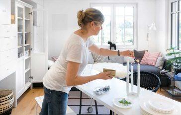 Leben um Minihaus Green Living Space