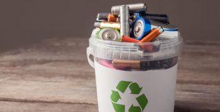 Batterien Recycling