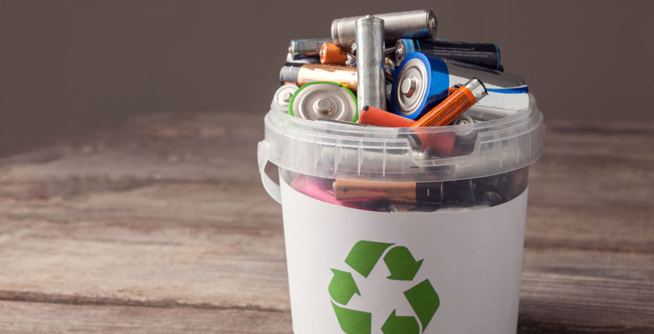 Batterien Recycling