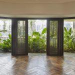 Natürliche Materialien prägen auch die Wohnräume im Eden. ©Hufton+Crow