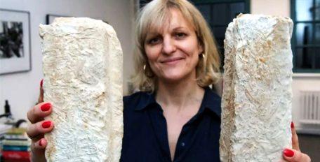 So sehen sie aus, die Ziegelsteine aus Pilzen. (c) Martin Weinhold