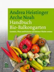 """Unser Buchtipp fürs Freibad: """"Handbuch Bio-Balkongarten"""" von Andrea Heistinger"""