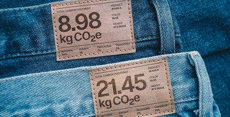 Jeans mit CO2 Fußabdruck