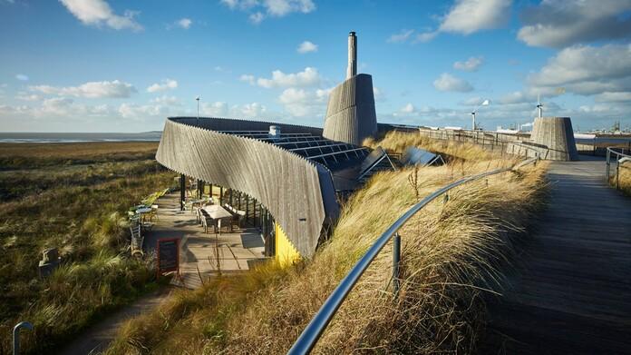 """Nachhaltiges Strandrestaurant """"Aan Zee"""", Oostvoorne"""