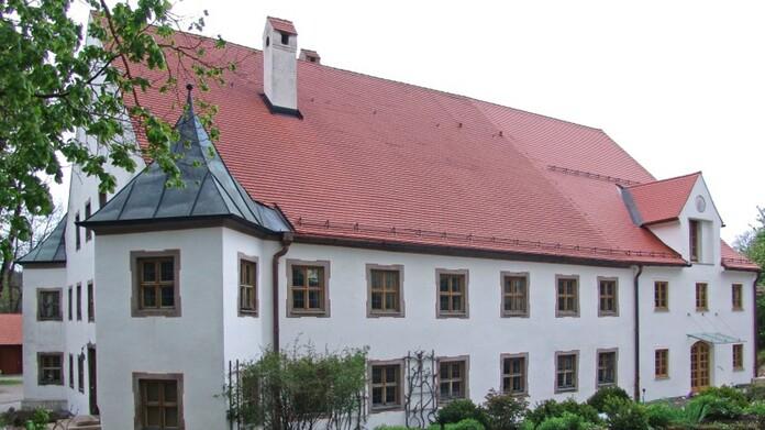 Orgelmuseum im Schloss Valley in Oberbayern