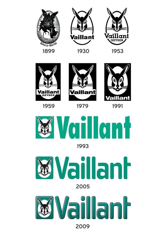 Die Entwicklung des Vaillant Logos
