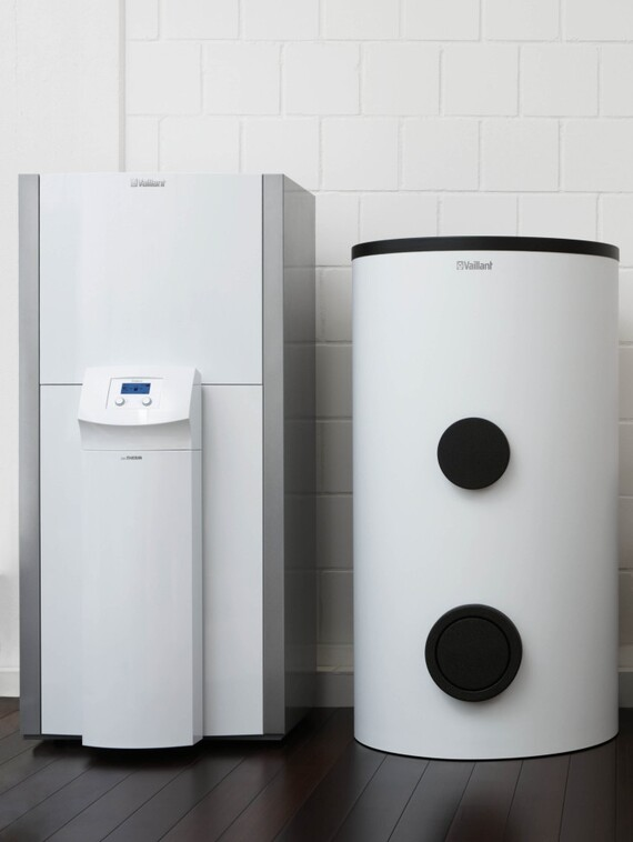 Solar-Warmwasserspeicher