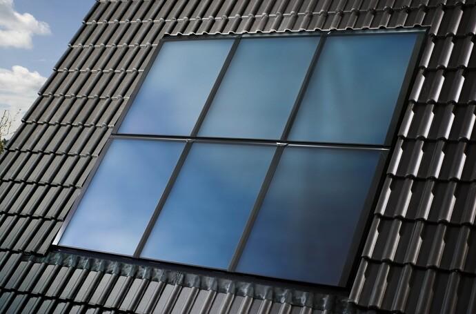 Solar mit Schrägdach