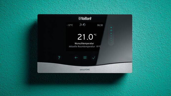Raumtemperaturregler sensoHOME