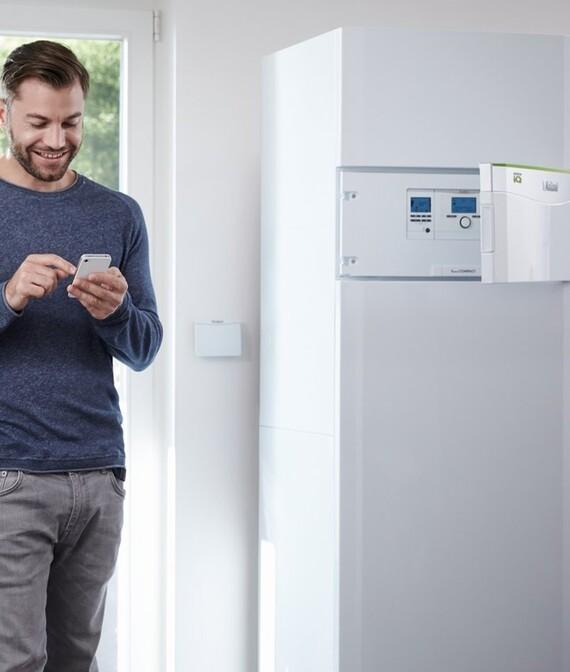 Steuern Sie Ihre Wärmepumpe bequem per App