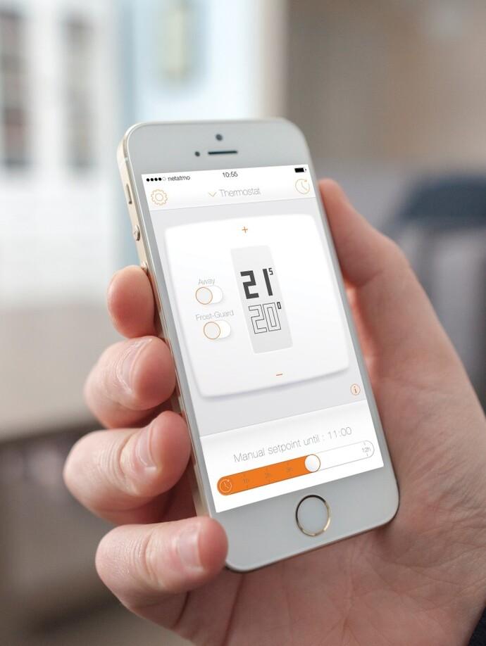 Thermostat Netatmo by STARCK (nicht mehr erhältlich)
