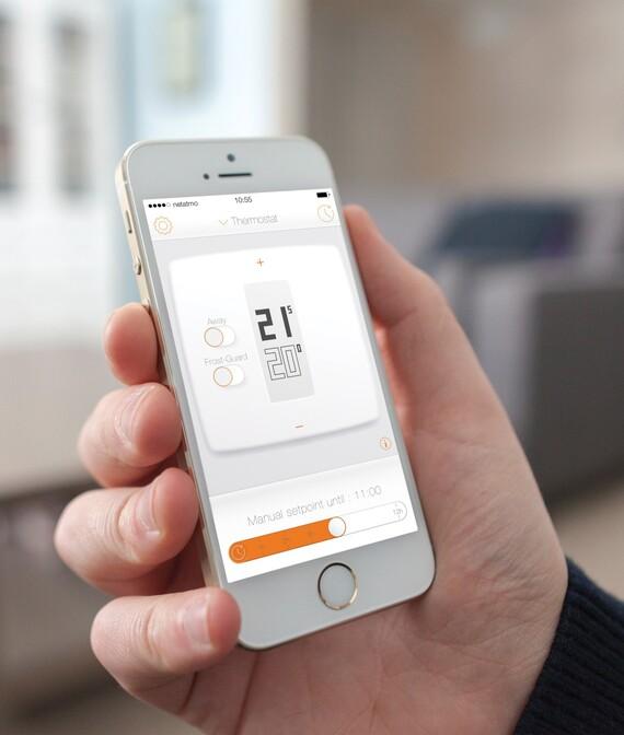 Regelung mit dem Thermostat Netatmo