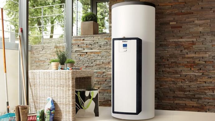 Solares Trinkwassersystem auroSTEP plus