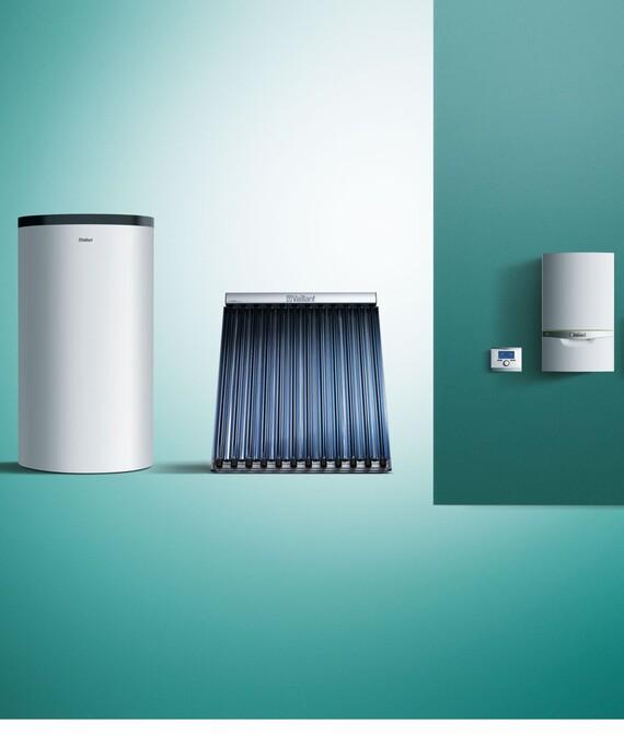 Kompatibel mit Vaillant Solar- und Heizsystemen