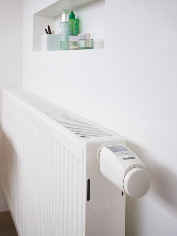 Funkgesteuertes Thermostatventil VR50