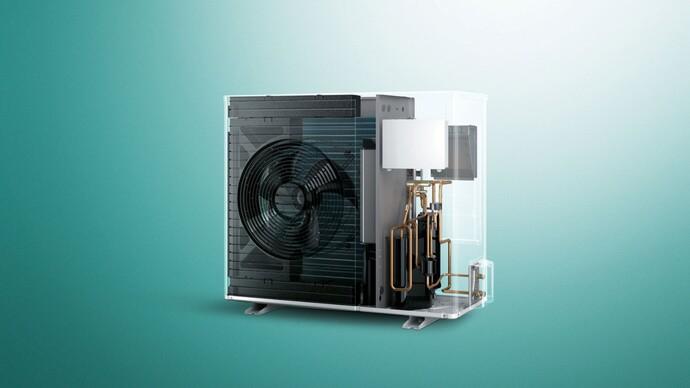 Luft/Wasser-Wärmepumpe aroTHERM Split