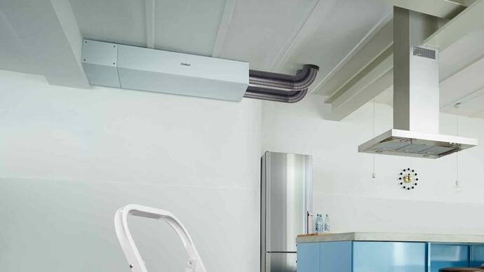 Zentrale Wohnungslüftung recoVAIR - Deckengeräte