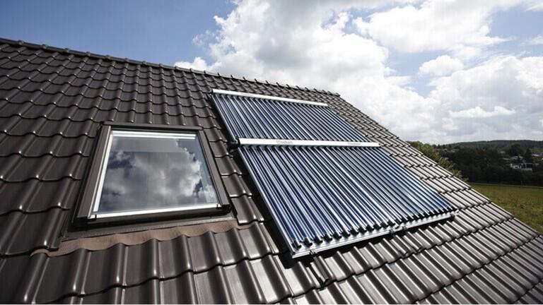 Hybrid: Gas-Brennwert & Solar