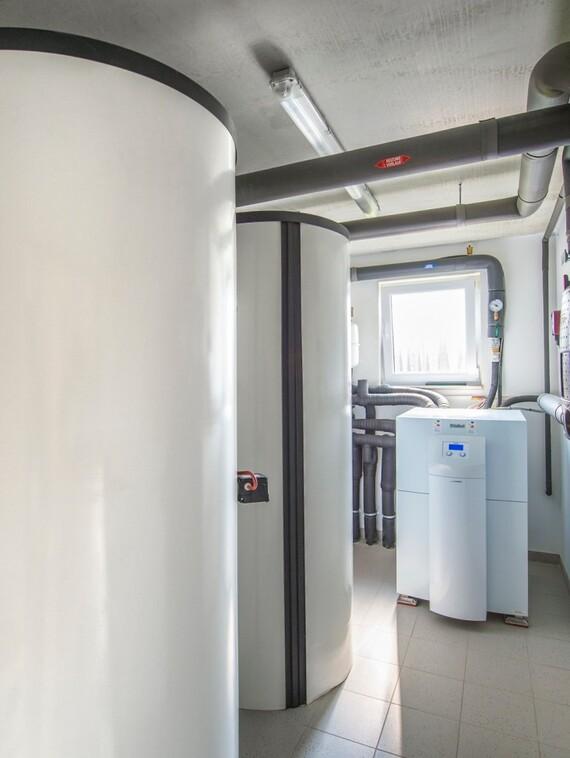 """Ressourcenschonend wird das Quartier """"Auf Hardenberg"""" über Erdwärmepumpen mit der benötigten Energie für Heizung und Warmwasser versorgt."""