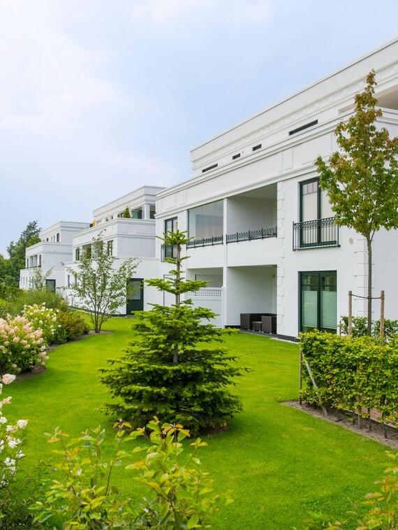 """Zukunftssicheres, altersgerechtes Wohnen für die Generation 60+: In Bad Zwischenahn definiert das Quartier """"Auf Hardenberg"""" den Anforderungskanon, den diese Zielgruppe stellt. (Fotos: Vaillant)"""