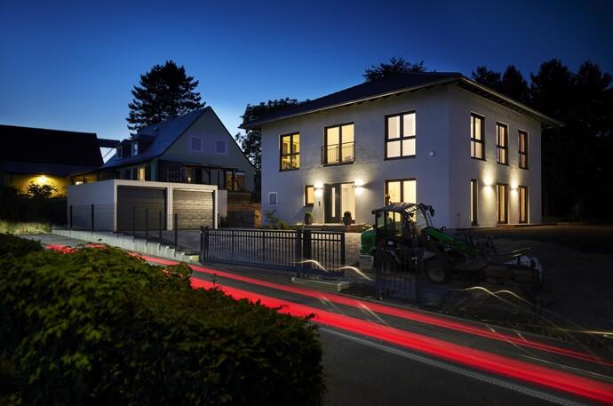 Junge Bauherren realisierten für KfW-Effizienzhaus 55 ökologisch wie ökonomisch Hocheffizienzlösung