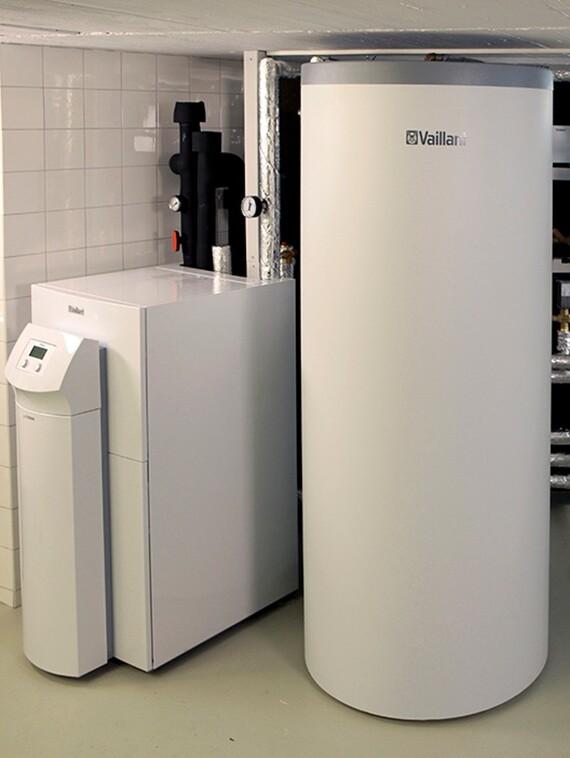 geoTHERM Sole/Wasser-Wärmepumpe plus Speicher