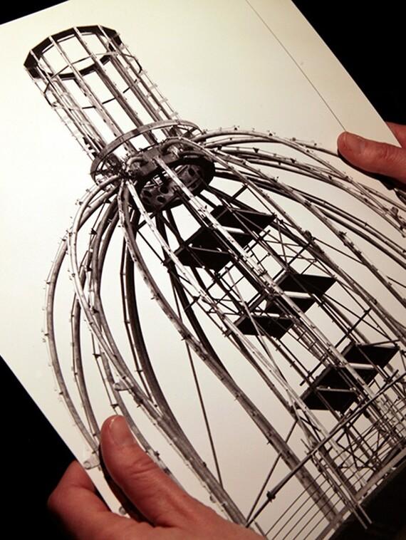 Gräfrather Wasserturm von 1904