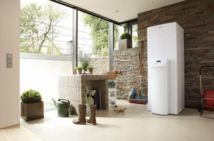 Die Wärmepumpe ist ein Paradebeispiel für die Nutzung regenerativer Energie.