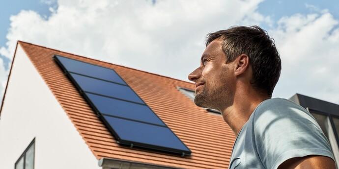 Solarenergie steht für die kostenlose Nutzung der Sonne für Heizung, Warmwasser und Strom.