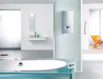 Durchlauferhitzer: Warmwasser für Küche, Bad und Dusche | Vaillant