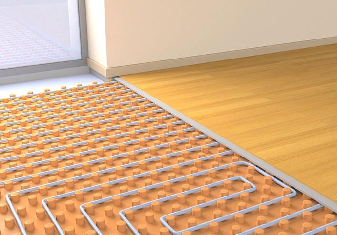 Hydraulischer Abgleich bei einer Fußbodenheizung | Vaillant