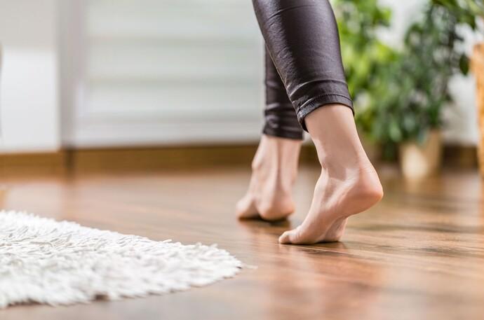 Fußbodenheizungen schaffen behagliche Wärme: Ideal für Barfuß-Geher
