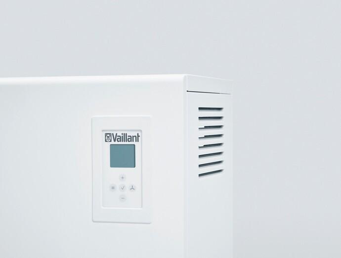 Die Konfiguration der Nachtspeicherheizung eloMENT VSU EL und VSF EL erfolgt digital und ist unkompliziert.