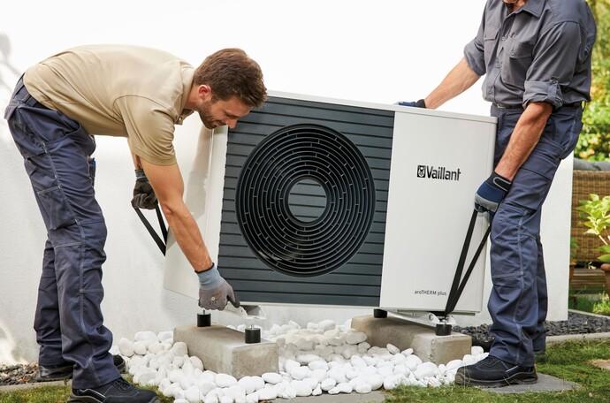 Können Wärmepumpen an eine bestehende Wärmeverteilung angeschlossen werden?