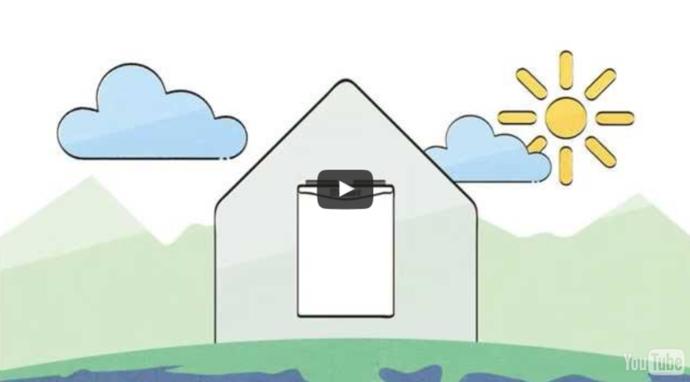 Erfahren Sie in 60 Sekunden, wie Sie ihr Zuhause in einen Luftkurort verwandeln - mit einer Lüftungsanlage zur Wohnraumlüftung.